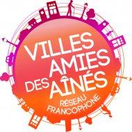 """Logo """"Villes amies des aînés"""""""